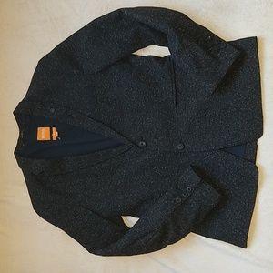 Hugo Boss orange wool jacket size 38r